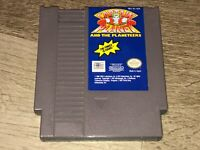 Captain Planet and the Planeteers Nintendo Nes Cleaned & Tested Authentic