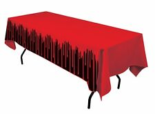 Bloody Fake Blood DRIPS Halloween Party Decoration Table Cloth Cover 137 X 274cm