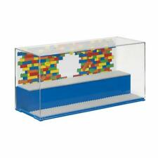 LEGO BLUE PLAY & DISPLAY CASE BRAND NEW - 2 LEVEL DISPLAY MINI FIGURES 4070