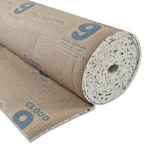 Cloud 9 Cirrus 9mm Thick Carpet Underlay 2 Full Rolls - 30 square metres m²