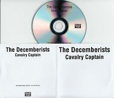 THE DECEMBERISTS Cavalry Captain 2015 UK 1-trk promo test CD