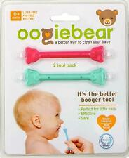 oogiebear Baby Ear Cleaner & Nose Booger Remover Tool 2 Pk -Authorized Retailer