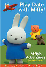 Miffys Adventures Big and Small: Play Date with Miffy (DVD, NEW, 2017 PBS)