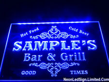 Name Personalized Custom Family Bar Amp Grill Beer Bar Beer Pub Club Led Neon Sign