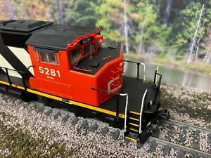 Intermountain SD40-2W DCC and factory installed Sound CN #5281