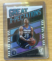2019-20 Panini Donruss Great Expectations Jarrett Culver Rookie RC Timberwolves