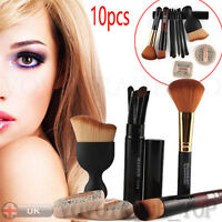 10pcs Cosmetic Makeup Brushes Set Face Puff Makeup Foundation Brush HIGH QUALITY