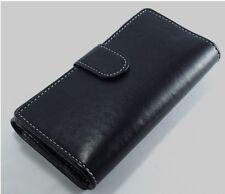 Genuine Leather Ladies Womens Wallet Purse Card Holder Black NEW