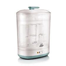 Baby largo bottiglie 2-in - 1 elettrico a vapore STERILIZZATORE Philips Avent detergente naturale