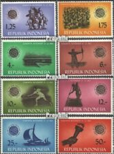 Indonesia 413-420 (complete issue) unmounted mint / never hinged 1963 Sports Gam