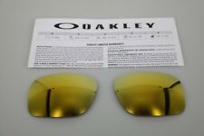NEW Oakley HOLBROOK 24K IRIDIUM OO9102 Replacement Lens Authentic
