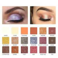 FOCALLURE 18 Colors Pearlized Color Eyeshadow Powder  Shadow Palette Kit HOT