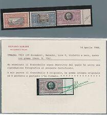 FRANCOBOLLI 1923 REGNO MANZONI C. 50+ L. 1 + 5 MNH D/2254