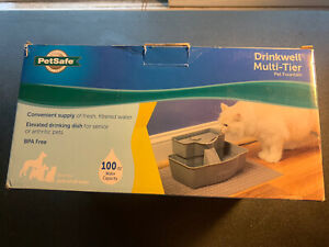 PetSafe Drinkwell Multi-Tier Cat and Dog Water Fountain - Automatic Drinking ...