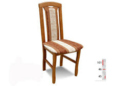Solid Wood Chair Dining Designer Leather Room K34