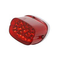 Red LED Taillight Brake Rear Tail Light Harley Softail Electra Dyna Sportster