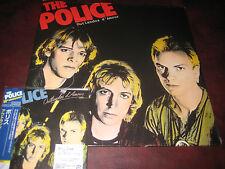 THE POLICE UK 180 GRAM OUTLANDOS D' AMOUR  AUDIOPHILE LP & JAPAN REPLICA OBI CD
