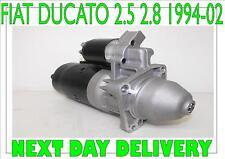 Fiat ducato 2.5 2.8 starter motor 1994 1995 1996 1997 1998 > 2002