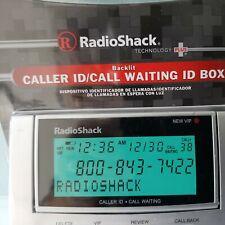 Radio Shack Backlit Caller ID/Call Waiting Box #43-3903 Tilting Screen NIP