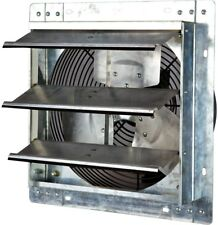 Shutter Exhaust Fan 12 in. Variable Speed iLIVING 800 CFM Power Air Ventilation