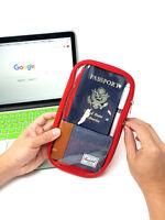 Travel Wallet Passport Credit ID Card Cash Holder Organizer Purse Case Bag Pouch