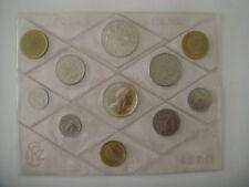 serie Zecca ITALIA 1980/1981 e 1982 in confezione originale con 500 argento