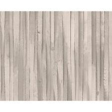 As Creation Poutre en Bois Papier Peint Moderne Effet Faux Texturé Rouleau