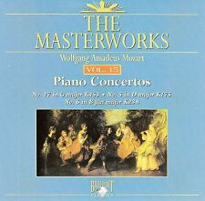 The Masterworks Vol.15-Wolfgang Amadeus Mozart Piano Concertos K453,K175,K238 CD