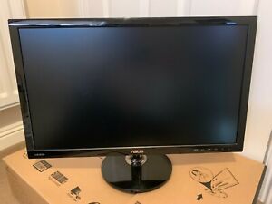 ASUS VS248 24 inch Widescreen TN LCD Monitor VGC boxed