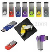 Swivel 32GB 64GB 128GB USB 2.0 Flash Drive Memory Stick Pen Storage Thumb U Disk