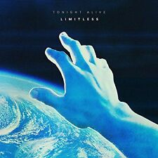 """TONIGHT ALIVE - LIMITLESS - NEW CLEAR 10"""" LP"""