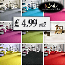 CHEAP & QUALITY CARPETS Feltback twist Bedroom width 3m 4m Large RUGS ANY SIZE