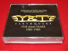 Y&T - Earthquake: The A&M Years 1981-1985 - 4 CD Box Set