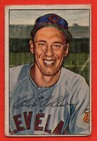 1952 Bowman #43 Bob Feller LOW GRADE CREASE HOF Cleveland Indians FREE SHIPPING