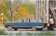 Ford Falcon Fordor Deluxe Sedan USA issued Postcard Not dated