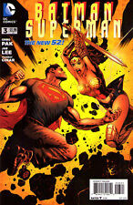 BATMAN SUPERMAN #3 New 52 Superman VARIANT Cover 1:25