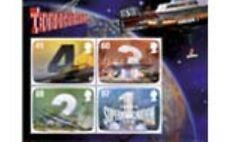 Engeland 2011 Thunderbrids blok Hologram  luxe postfris