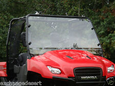 TOP & Clear Lexan WINDSHIELD ~ HONDA BIG RED ~ UTV Enclosures  New 3 Colors