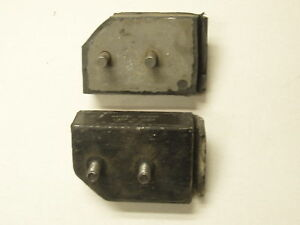 """DODGE PLYMOUTH ENGINE MOTOR MOUNTS """"PAIR"""" SOME = PLEASE MATCH TO ORIGINALS"""
