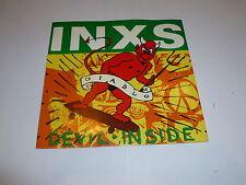 """INXS - Devil Inside - 1987 UK 2-track vinyl 7"""" single"""