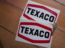 TEXACO OIL F1 Formula One Nascar Indycar Race Stickers