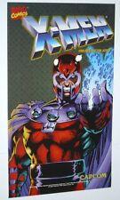 1992 Jim Lee Magneto X-Men Marvel Capcom arcade video game decal/sticker/poster