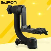 "Pro 1/4"" 360° Swivel Pro Panoramic Gimbal clamp Tripod Ball Head ST-360 system"