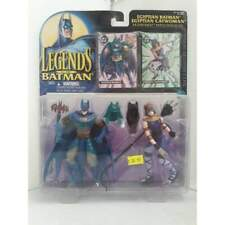 1995 Legends Egyptian Batman Catwoman DC Action Figure Kenner / Hasbro