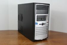 Custom Gaming Desktop PC Intel Quad Core 2.33 Ghz 4 GB 320 GB AMD R5 240 1GB DVD
