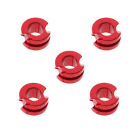 """5 x Hunter Target Hunting Peep Sight 3/16"""" For Compound Bow Archery - Red"""