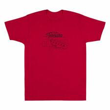 Fender Tele/Telecaster Headstock Blueprint T-Shirt - 30% Off! (Red, Large)