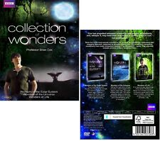 A COLLECTION OF WONDERS: the SOLAR SYSTEM, UNIVERSE, LIFE  Brian Cox NEW Rg2 DVD