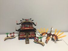 Lego 2507 Fire Temple Ninjago Complete with Instructions & All Minifigures