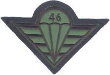 CZECH REPUBLIC 46th Airborne Artillery Battalion parachute patch, field, para